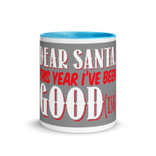 Load image into Gallery viewer, Gift For Her, Him And The Whole Family Dear Santa Best Seller Mug with Color Inside