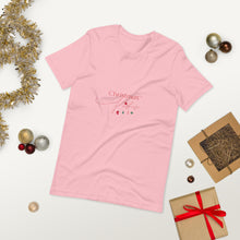 Load image into Gallery viewer, Christmas Vibes Short-Sleeve Unisex T-Shirt, Great Christmas Gift, Gift For Christmas, Holiday Season, Good Vibes, Holiday Fun, Christmas Sweater, Christmas, Holiday Vibes