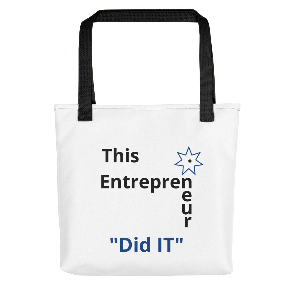 This Entrepreneur Did IT (Tote bag) - E2 Express