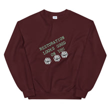 Load image into Gallery viewer, Restoration Looks Good On You Unisex Sweatshirt