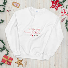 Load image into Gallery viewer, Christmas Vibes Unisex Sweatshirt, Great Christmas Gift, Gift For Christmas, Holiday Season, Good Vibes, Holiday Fun, Ugly Sweater, Christmas Sweater, Christmas