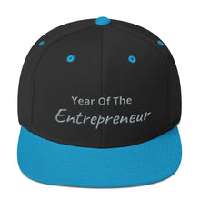 Load image into Gallery viewer, Year Of The Entrepreneur Snapback Hat - E2 Express