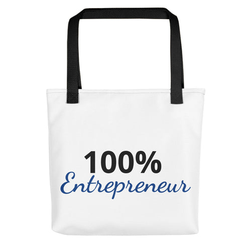 100% Entrepreneur Tote bag - E2 Express
