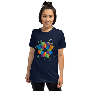 Faith Hope Love, Inspirational Tee, Kindness Short-Sleeve Unisex T-Shirt