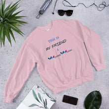 Load image into Gallery viewer, Best Friend Sweater, BFF Sweater, Best Friend Gift, Long Distance Friendship, Birthday Gift – Wonder Woman Friend - Gift for Sister – Gift For Friend, Women DC Heroes - Gift For her - Sister Club - Mom Gift -Best Friend Birthday Gift