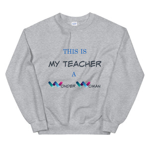 Wonder Woman, Teacher Gifts, Women DC Heroes, Inspiration DC, Women Sweater, Gift For Her, Quarantine Teacher, Distance Teaching Gift, Quarantine Teaching 2020, Teacher Appreciation Gift, Professor Gift, Teacher Wonder Woman, Thank You Teachers