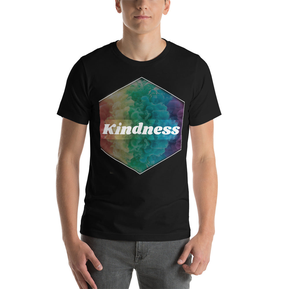 Kindness Positive Vibes Short-Sleeve Unisex T-Shirt