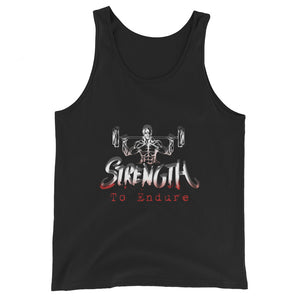 Workout Gift For Him Gift For Her Unisex Tank Top Strength To Endure