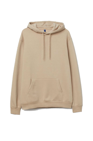 KHAKI HOODED SWEATSHIRT
