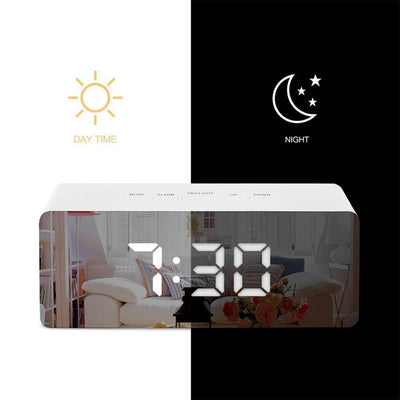Digital Alarm Clock day and night