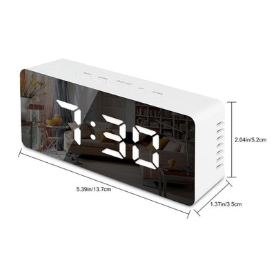 Digital Alarm Clock size