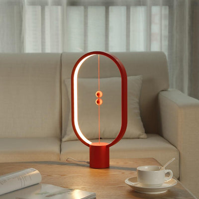 red color Constant Balance Night Light