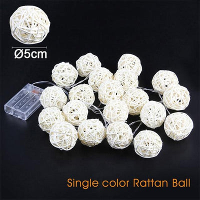 5cm warm white color string light