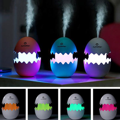 3 colors of Dinosaur Egg Essential Oil Diffuser