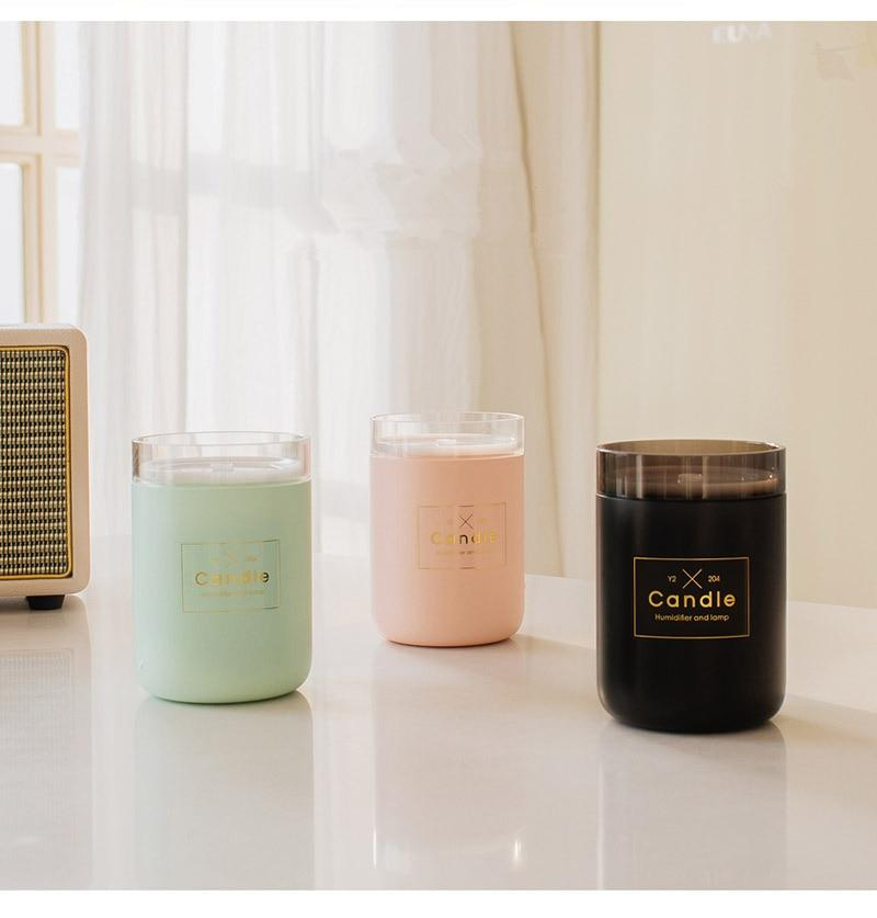 Candle Ultrasonic Air Humidifier 280ML