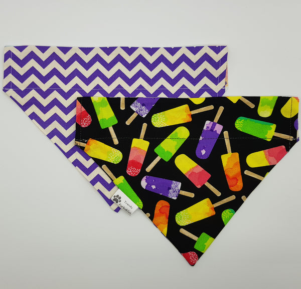 Purple Icey Pole Bandana