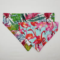 Tropical Flamingo Bandana