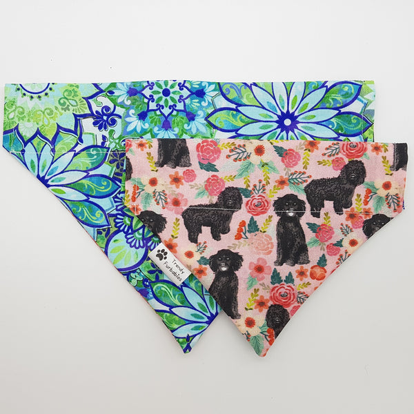 Flower Cockapoo Bandana