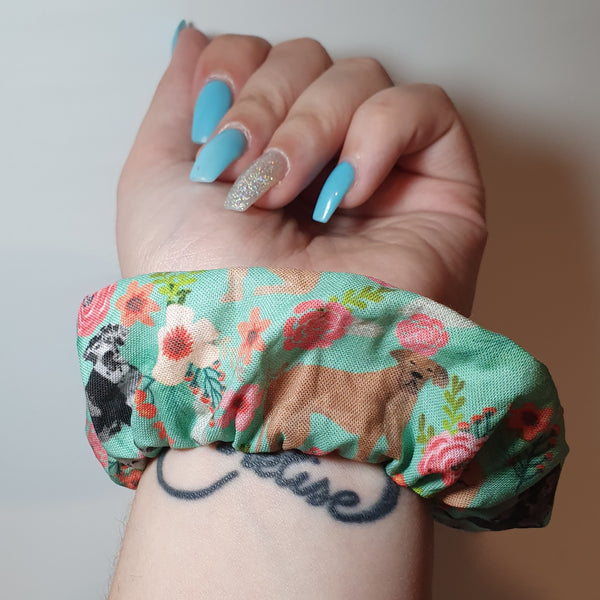 Great Dane Wrist Scrunchie