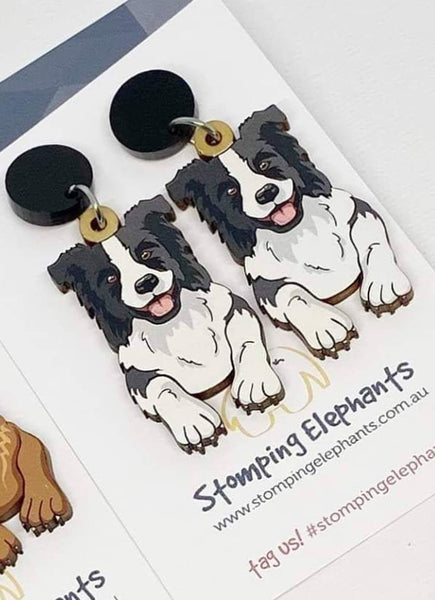 Border Collie Dangles