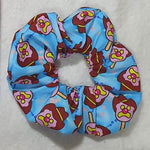 Blue Bill Scrunchie