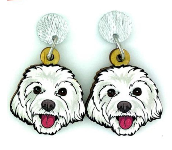 Shih Tzu Head Dangles
