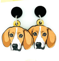 Beagle Head Dangles