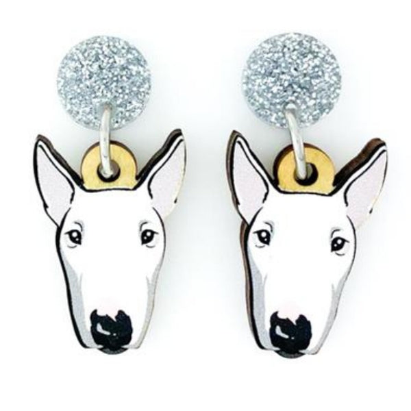 Bull Terrier Head Dangles