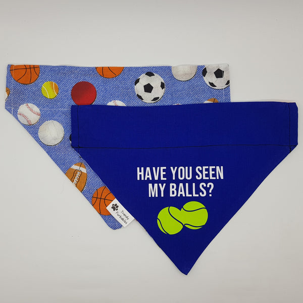 Have You Seen My Balls Bandana