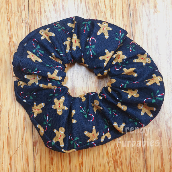 Gingerbread Scrunchie