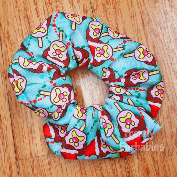 Bubble'O Bill Christmas Scrunchie