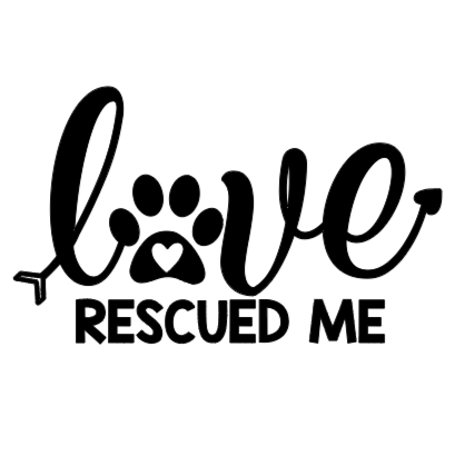 Love Rescue Decal
