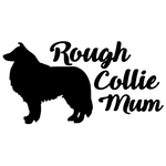 Rough Collie Mum Decal