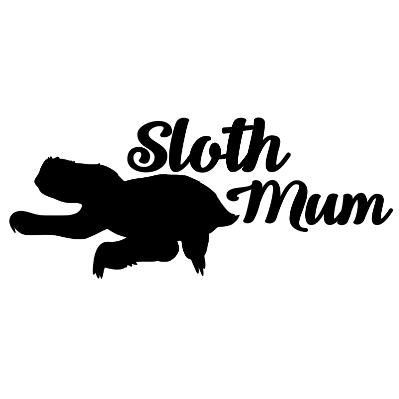 Sloth Mum Decal