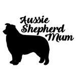 Aussie Shepherd Mum Decal