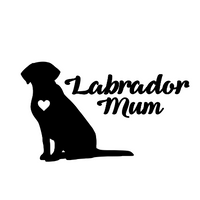 Labrador Mum Decal