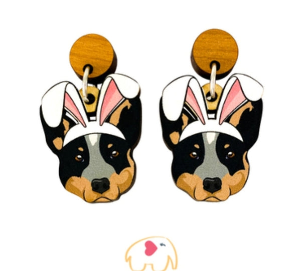 ACD (Blue) Easter Dangles