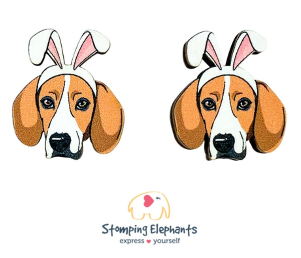 Beagle Easter Studs