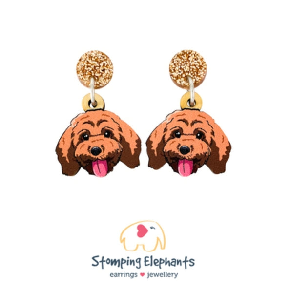 Cavoodle Head Dangles