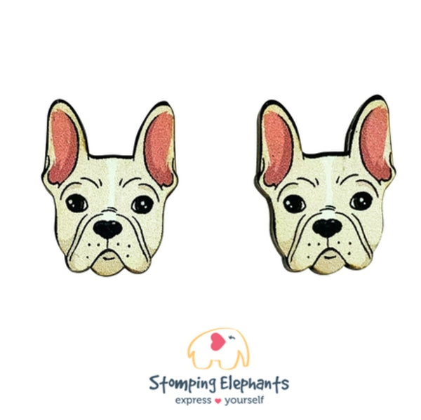 Frenchie (Fawn) Head Studs