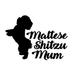Maltese Shitzu Mum Decal