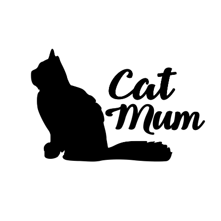 Cat Mum Decal