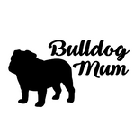 Bulldog Mum Decal