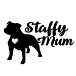 Staffy Mum Decal