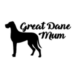 Great Dane Mum Decal