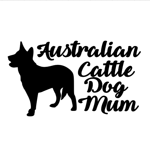 Australian Cattle Dog Mum Decal
