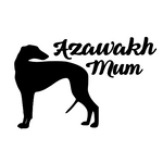 Azawakh Mum Decal