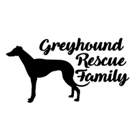 Greyhound Rescue Family Decal
