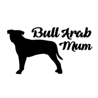Bull Arab Mum Decal
