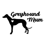 Greyhound Mum Decal